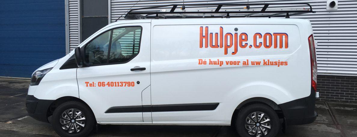 Foto van bus van Hulpje.com 2016