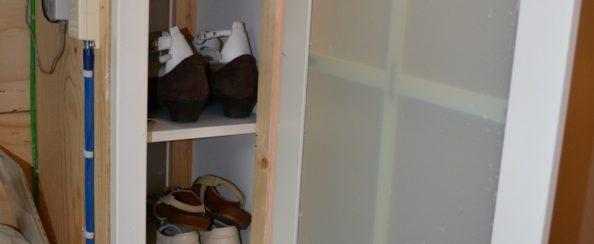 Meter- en schoenenkast september 2016 foto 1
