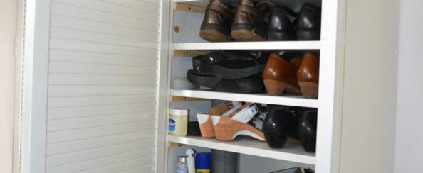 Meter- en schoenenkast september 2016 foto 2