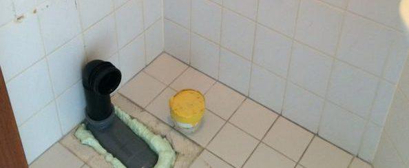 Toilet vervangen en betegeld 3 foto 1
