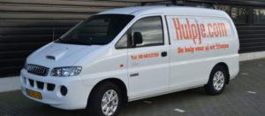 Foto van bus Hulpje.com 2012