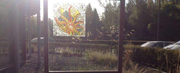 Framewerk glaskunst parkhuijs almere oktober 2013 gesponsord foto 1