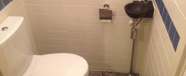 Toilet vervangen en betegeld 1 foto 1