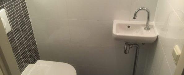 Toilet vervangen en betegeld 5 foto 2