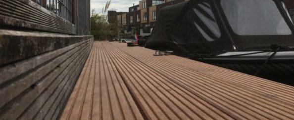 Aanlegplaats voor een boot vernieuwd (foto 1)